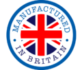 Manufactured in Britain logo