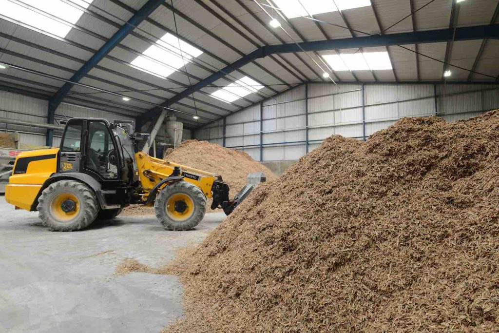 Benefits of woodcrete ICF. Supply of recycled wood fibre used in Insulated Concrete Form