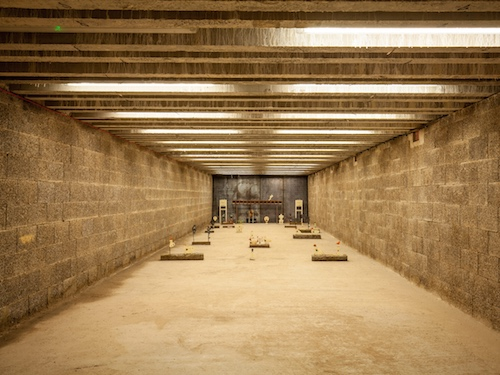 Mendip Shooting Club indoor air rifle range built with Durisol