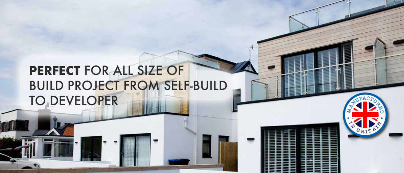 Perfect for all size of build project from self-build to developer