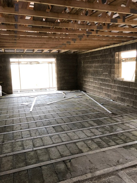 Block and beam flooring